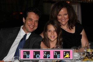 """Elliana with us at Night Of Hope-she thought it was cool that so many people were there to help other people """"have a baby like me!"""""""